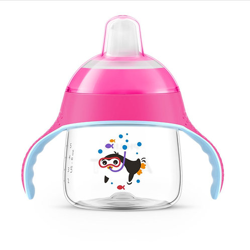 COPO PINGUIM 200ML - ROSA - AVENT