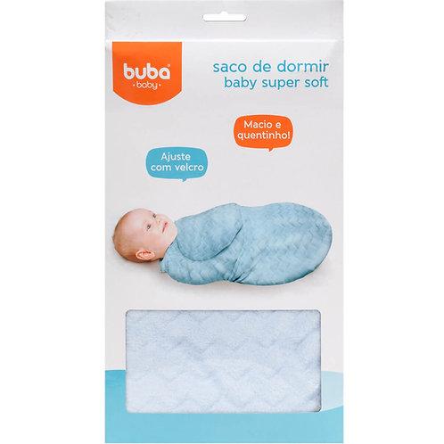 SACO DE DORMIR BABY SUPER SOFT - AZUL - BUBA