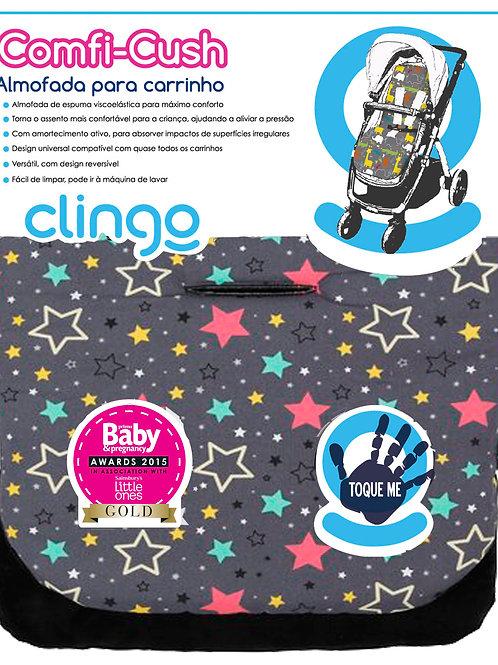 ALMOFADA PARA CARRINHO COMFI CUSH - COLOR STARS - CLINGO
