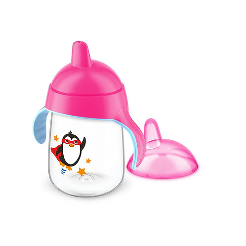 COPO PINGUIM 340ML - ROSA - AVENT