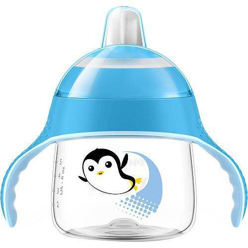 COPO PINGUIM 200ML - AZUL - AVENT