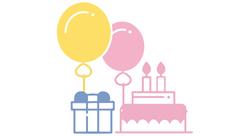 Birthday Parties and any milestone celeb