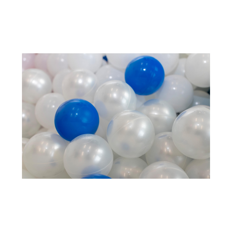 Blue & White Balls