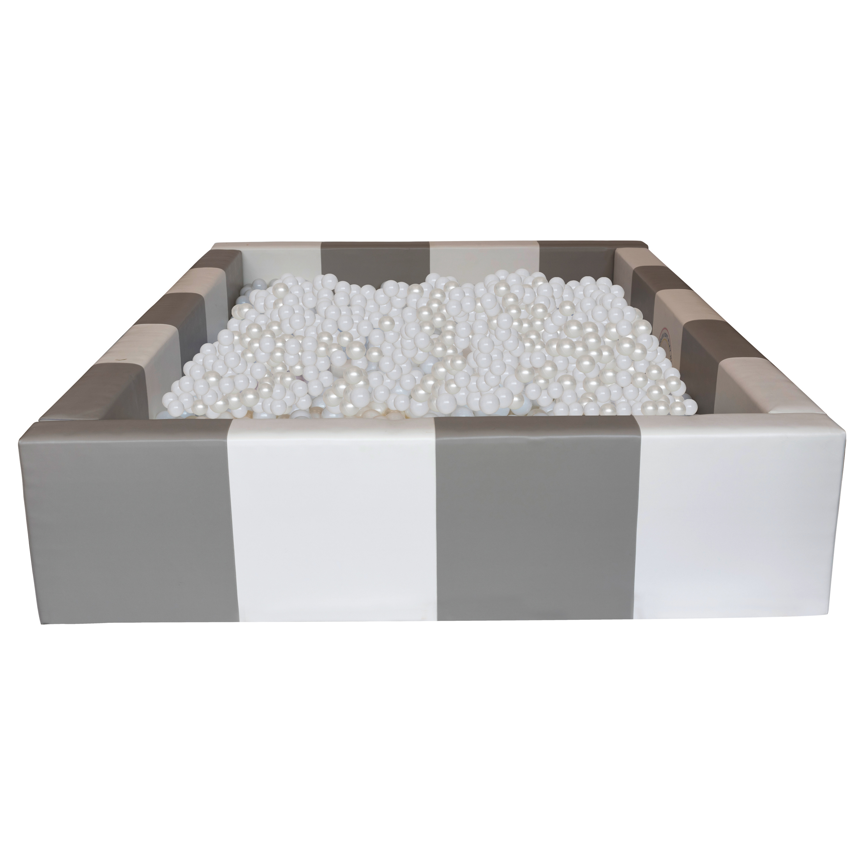 Grey & White Rectangle Ball Pool 6ft
