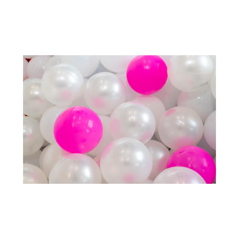 Pink & White Balls