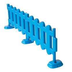 Blue Picket Fence