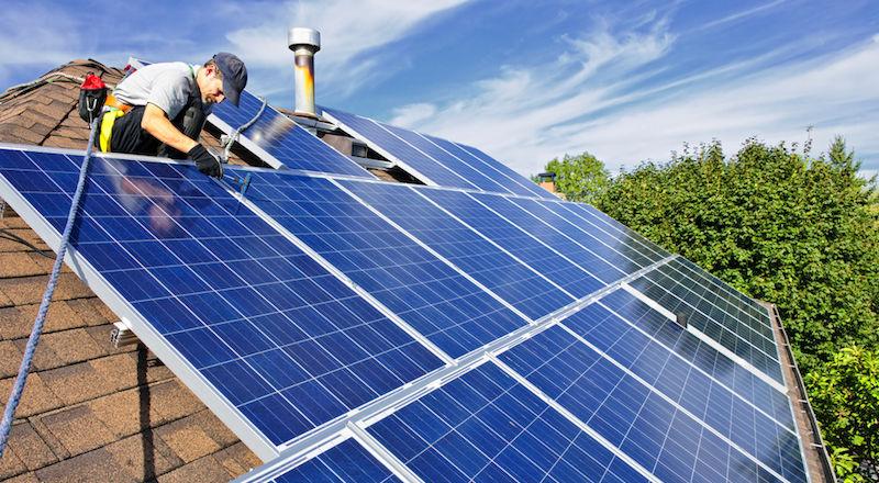 güneş paneli kurulumu