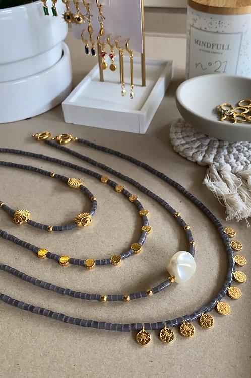 Grey Summer Necklaces