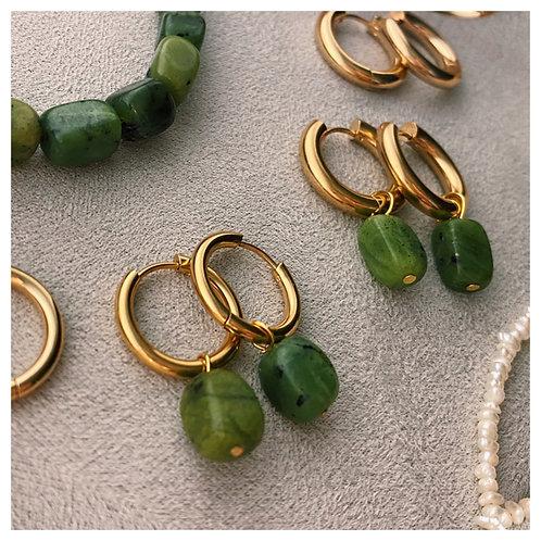 Green Haolite Stones