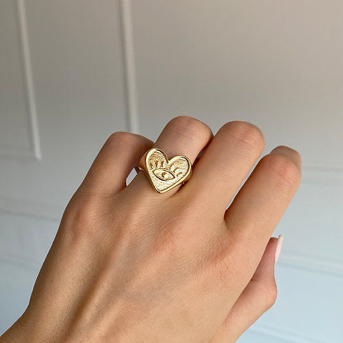 The BIG HEART ring