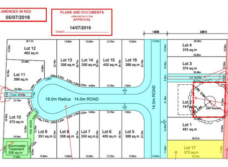 "Subdivision in ""Not Yet Ready"" Emerging Community Zone Approved Subdivision 1 into 17 Lots"