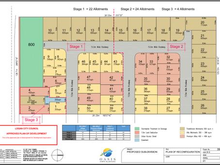 洛根市大型土地分割项目,五十块住宅用地 (1 into 50 Lots) in Logan City