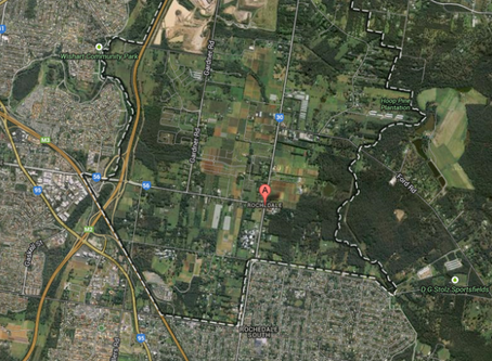 Subdivisions in Rochedale, Brisbane