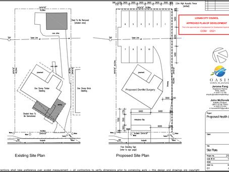 土地使用用途变更,纯住宅房屋转商业 (医疗诊所) - Logan City
