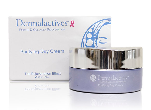Dermalactives Purifying Day Cream Wake Up To Nourished, Fresh and Radiant Skin