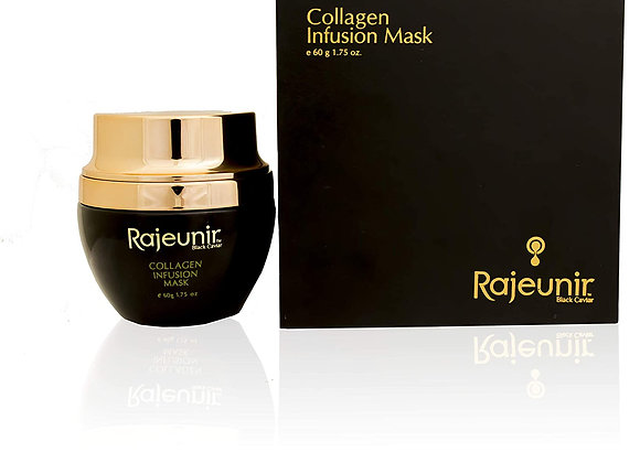 Rajeunir Black Caviar Collagen Infusion Mask Stimulating Collagen Production