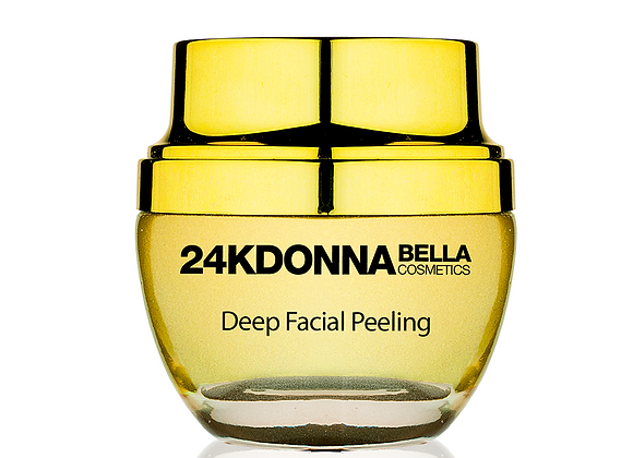 Donna Bella 24K Deep Facial Peeling for a Powerful Facial Cleansing