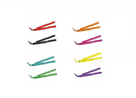 ISO Beauty Turbo Silk 1 Inch Titanium Plates Hair Straightener Flat Iron