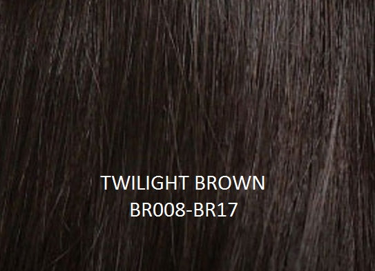 "Herstyler Hidden Crown 18"" Human Hair Extensions Brown BR008"