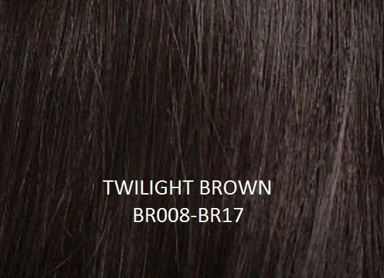 "Herstyler Hidden Crown 18"" Human Hair Extensions Brown BR008"