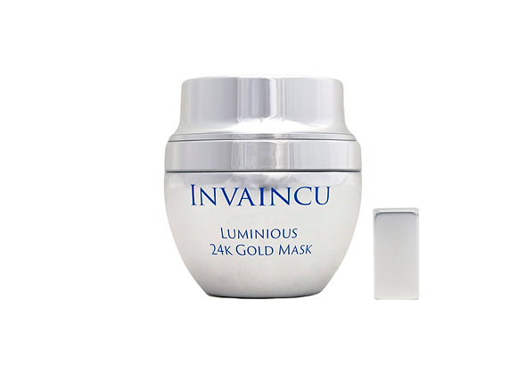 Invaincu Luminous 24K Gold Mask With Magnet Diminishes Fine Lines and Wrinkles