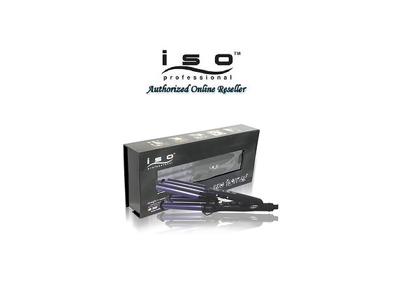 ISO Beauty Authentic NIB Ceramic Tourmaline Waver