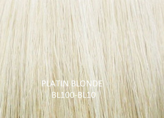 """Herstyler Hidden Crown 18"""" Human Hair Extensions Platin Blonde"""