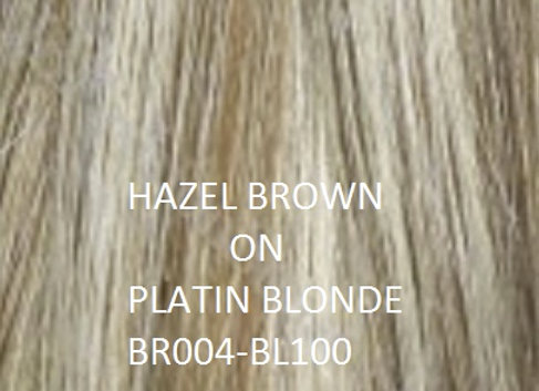 "Herstyler Hidden Crown 18"" Human Hair Extensions MIX BR004"
