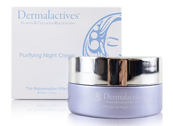 Dermalactives Purifying Night Cream Hydrate While Purifying Each Dermal Layer