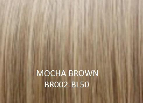 "Herstyler Hidden Crown 18"" Human Hair Extensions Mocha Brown BR002"