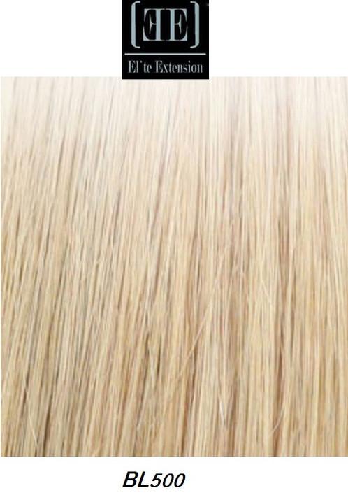 Elite 18 Clip On Human Hair Extension Blond Bl500