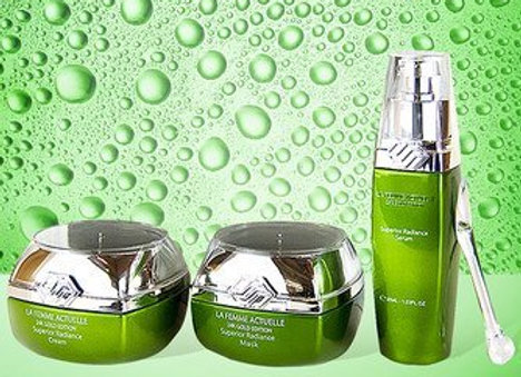 La Femme Actuelle Collagen Renewal Treatment Set With Cucumber and Green Tea