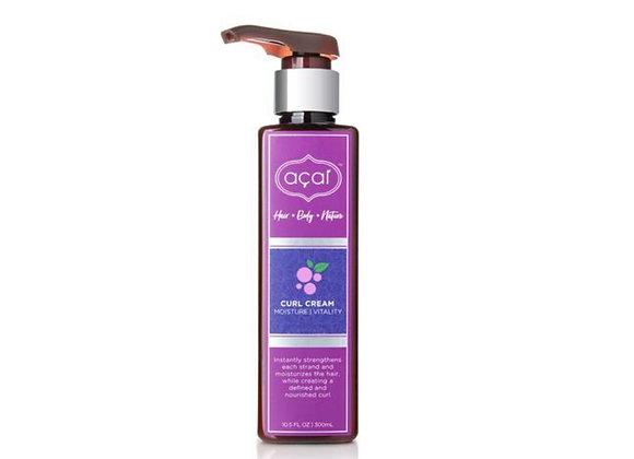 Acai Hair Care Moisture Vitality Hair Curl Cream Instantly Strengthens The Hair