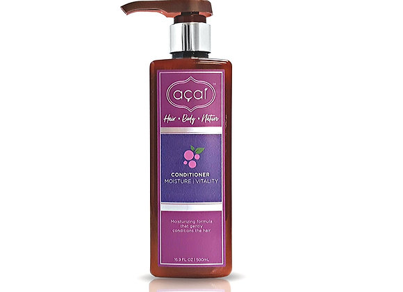 Acai Moisture Vitality Conditioner Moisturizing Gently Conditions Hair