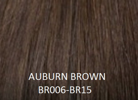 "Herstyler Hidden Crown 18"" Human Hair Extensions Auburn Brown BR006"