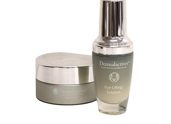 Dermalactives Eye Lifting Solution & Eye Cream Delicate Skin Treatment Set