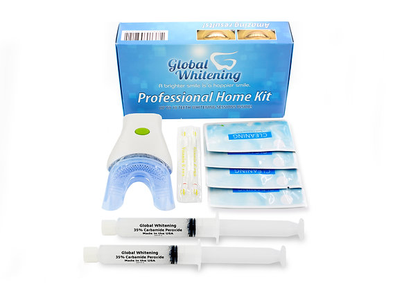 Global Whitening ® Professional Teeth Whitening Home Kit System