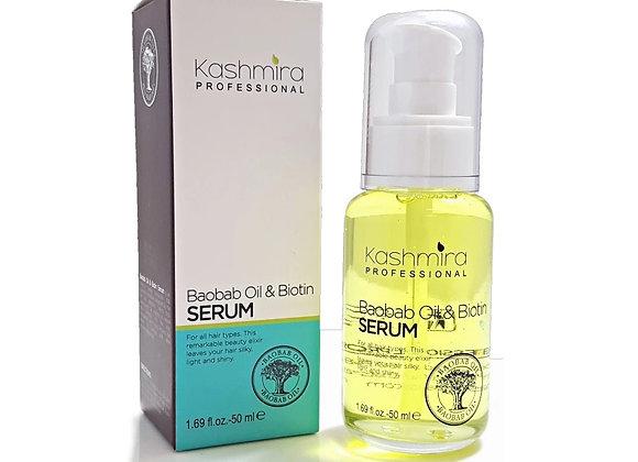 Kashmira Professional Heat Protector Anti-Frizz Serum With Baobab Oil & Biotin