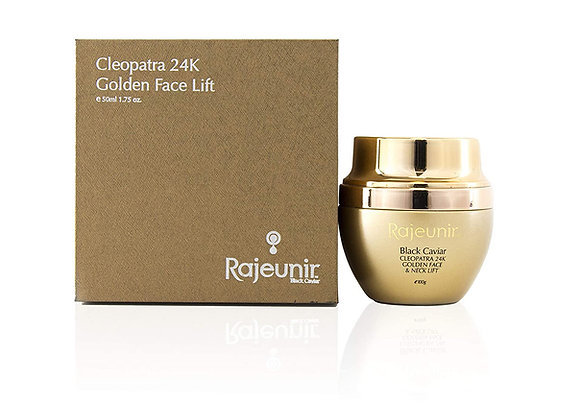 Rajeunir Black Caviar Cleopatra 24K Golden Face & Neck Lift