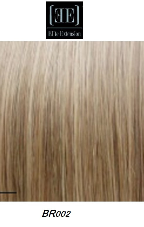 Elite 18 Clip On Human Hair Extension Brown Br002