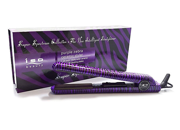 "ISO Beauty Spectrum Pro Limited Animal 1.25"" Ceramic Hair Straightener, 5 Colors"