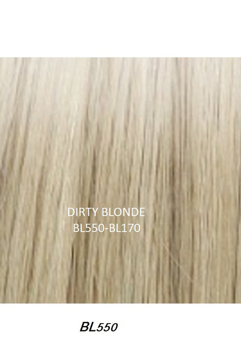 Crown 18 human hair extensions dirty blonde bl550 best shopping crown hair extensions 18 long 100 human hair extensions instant hidden crown dirty blonde bl550 bl170 pmusecretfo Image collections