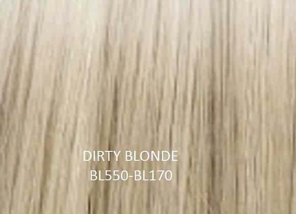 """Herstyler Hidden Crown 18"""" Human Hair Extensions Dirty Blonde BL550"""
