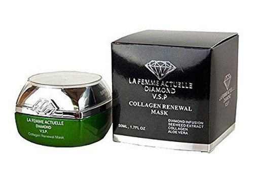 La Femme Seaweed Collagen Renewal Mask - Helps Diminish Fine Lines and Wrinkles