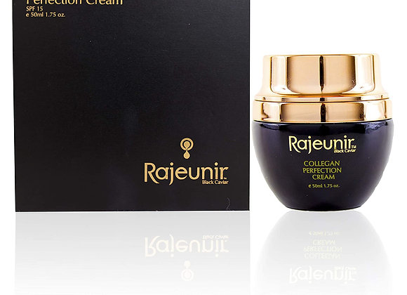 Rajeunir Black Caviar Collagen Perfection Cream Deeply Hydrates the Skin SPF 15
