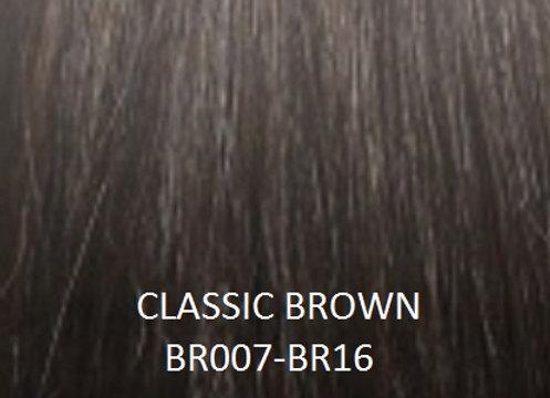 "Herstyler Hidden Crown 18"" Human Hair Extensions Brown BR007"