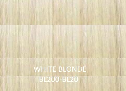 "Herstyler Hidden Crown 18"" Human Hair Extensions White Blonde BL200"