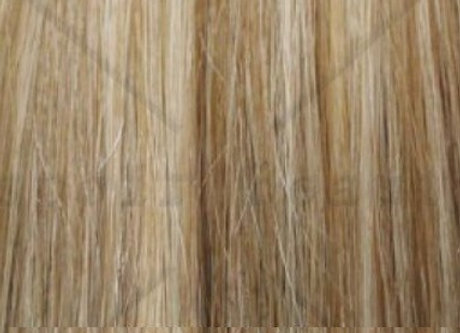 """Herstyler Elite Extensions 18"""" Clip On Human Hair Extensions Mix BL100"""