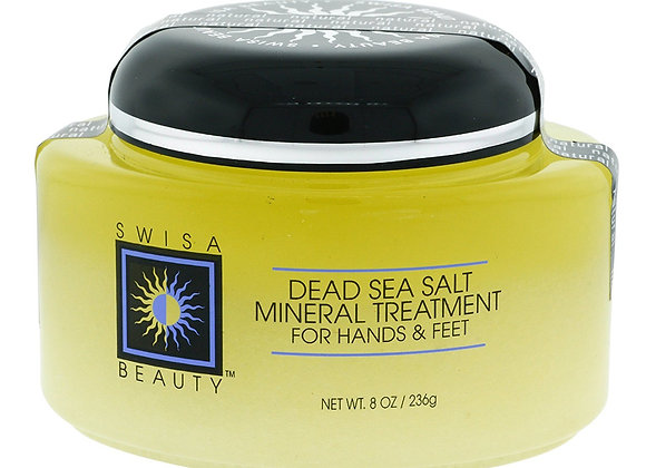 Swisa Beauty Dead Sea Mineral Salt Treatment For Hands & Feet, Natural