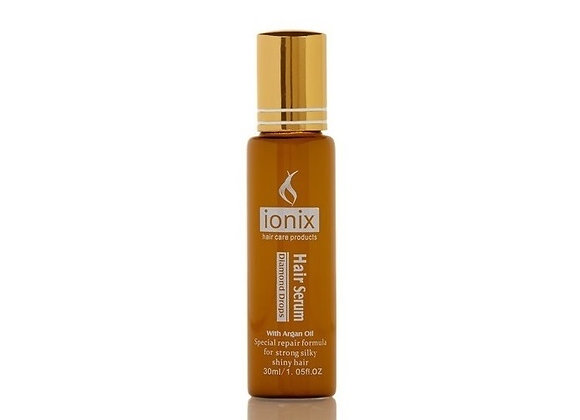 ISO Beauty IONIX Anti-Frizz Diamond Drops Hair Serum W/ Moroccan Argan Oil